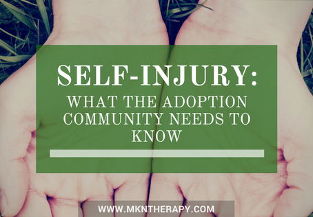 Self-Injury: What the Adoption Community Needs to Know