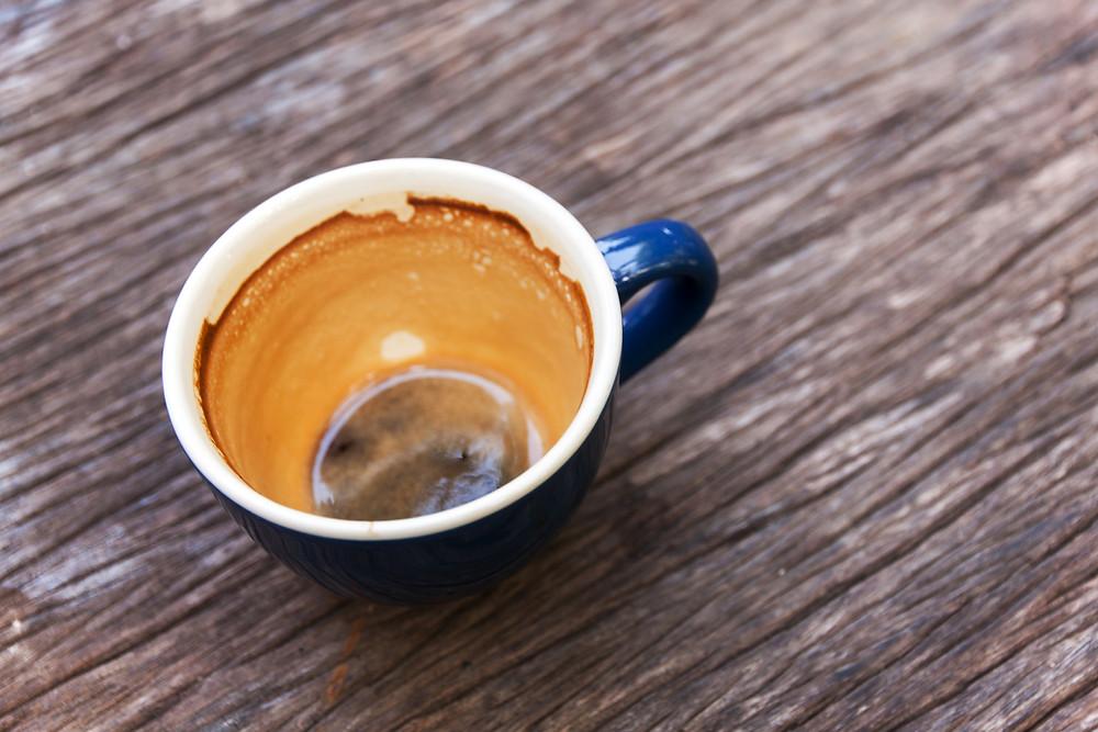 empty cup, lack of self-care, burnout
