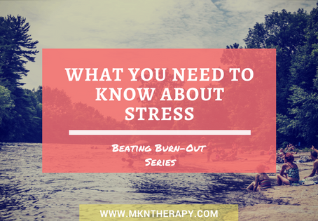 Beating Burnout Series: What You Need to Know About Stress