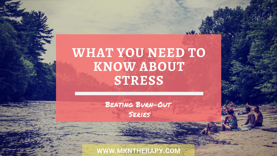 What you need to know about stress, picture of beach, people relaxing on beach, summertime