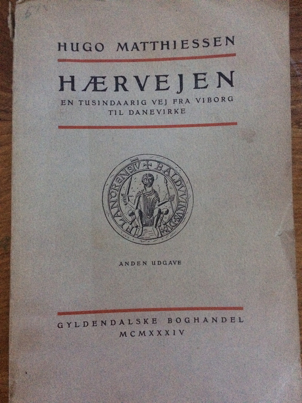 1930'er bogen om Hærvejen