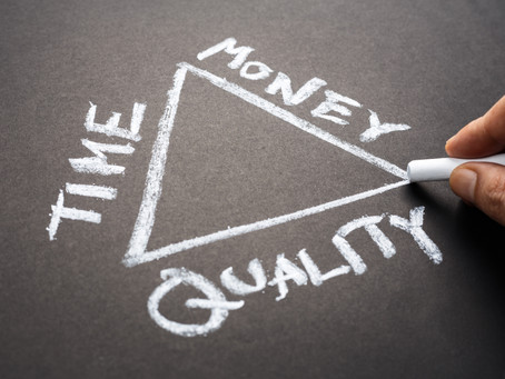 The paradox of cost, quality and speed