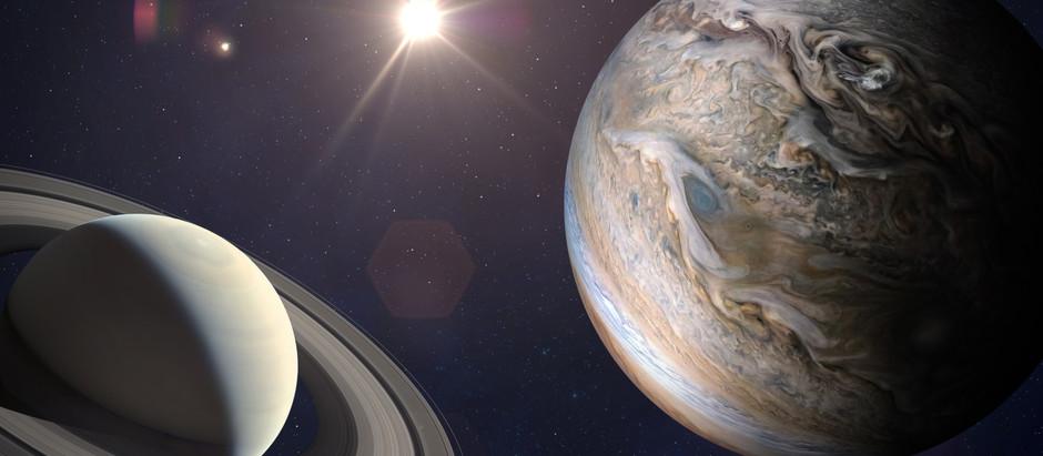 Winter Solstice lit up by Jupiter-Saturn Conjunction