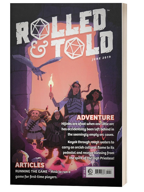 Rolled and Told Magazine no.10