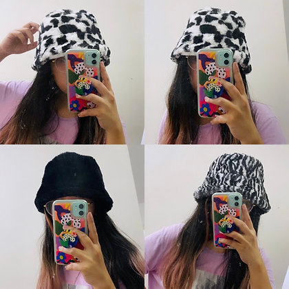 Furry Soft Bucket Hat