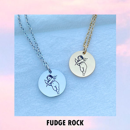 Stainless Angel Necklace