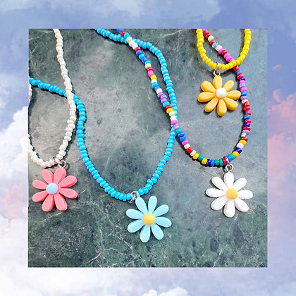 Floral Beads Necklace