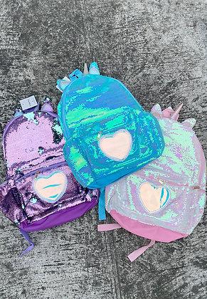 Unicorn Heart Backpack XL