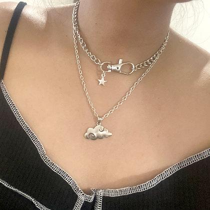 Cloud Star Necklace