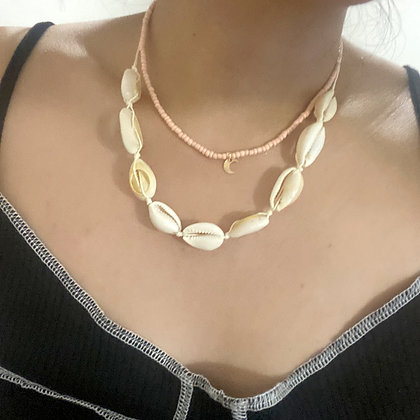 Moon Shell Island Necklace