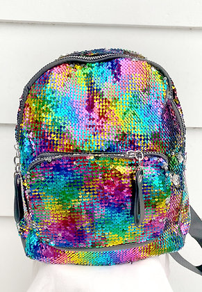Full Sequins Backpack