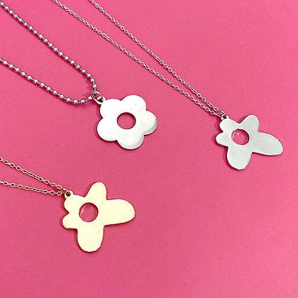 Y2K Flower Necklace