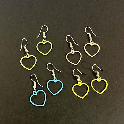 Pastel Hearts Earrings
