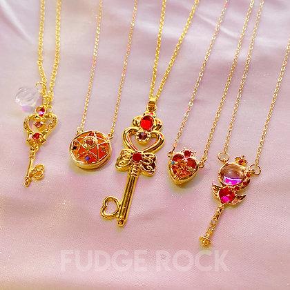 Sailormoon Wands Necklace