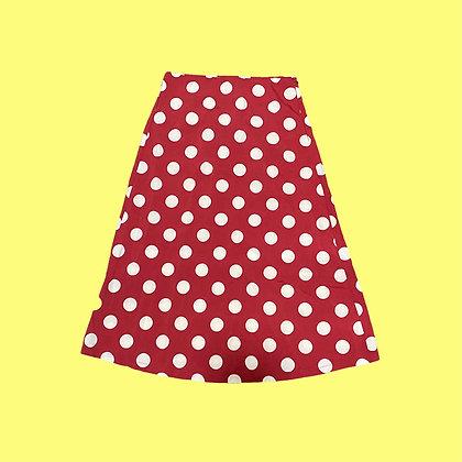 Red Polka Dot Skirt
