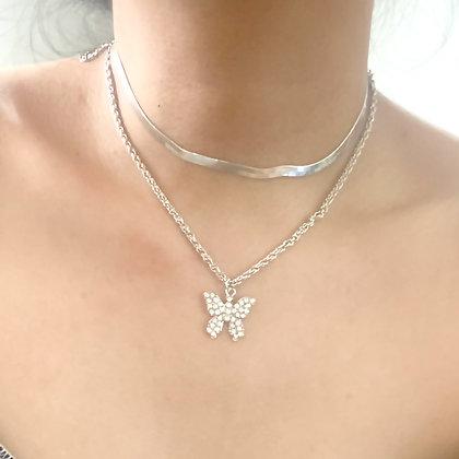 Elegant Butterfly Choker