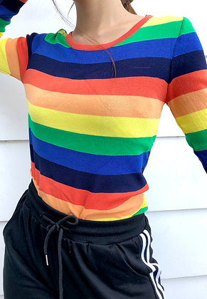 Rainbow Knit Longsleeves