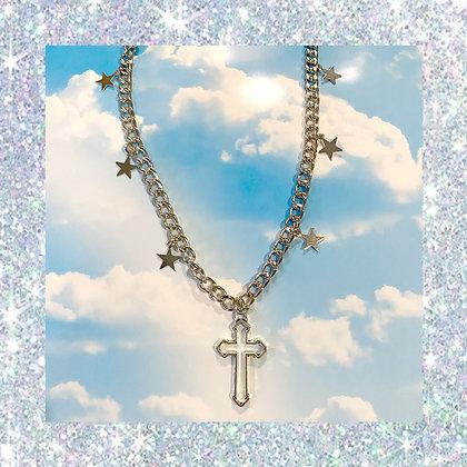 Cross Stars Necklace