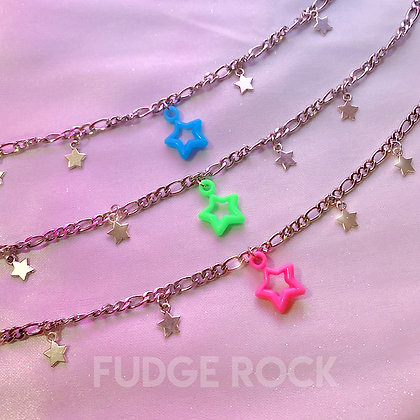 Powerpuff Girls Star Necklace