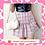 Thumbnail: Pink Plaid Ruffle Skirt