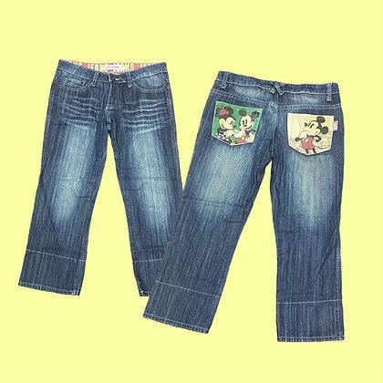 Mickey Pocket Denim Pants