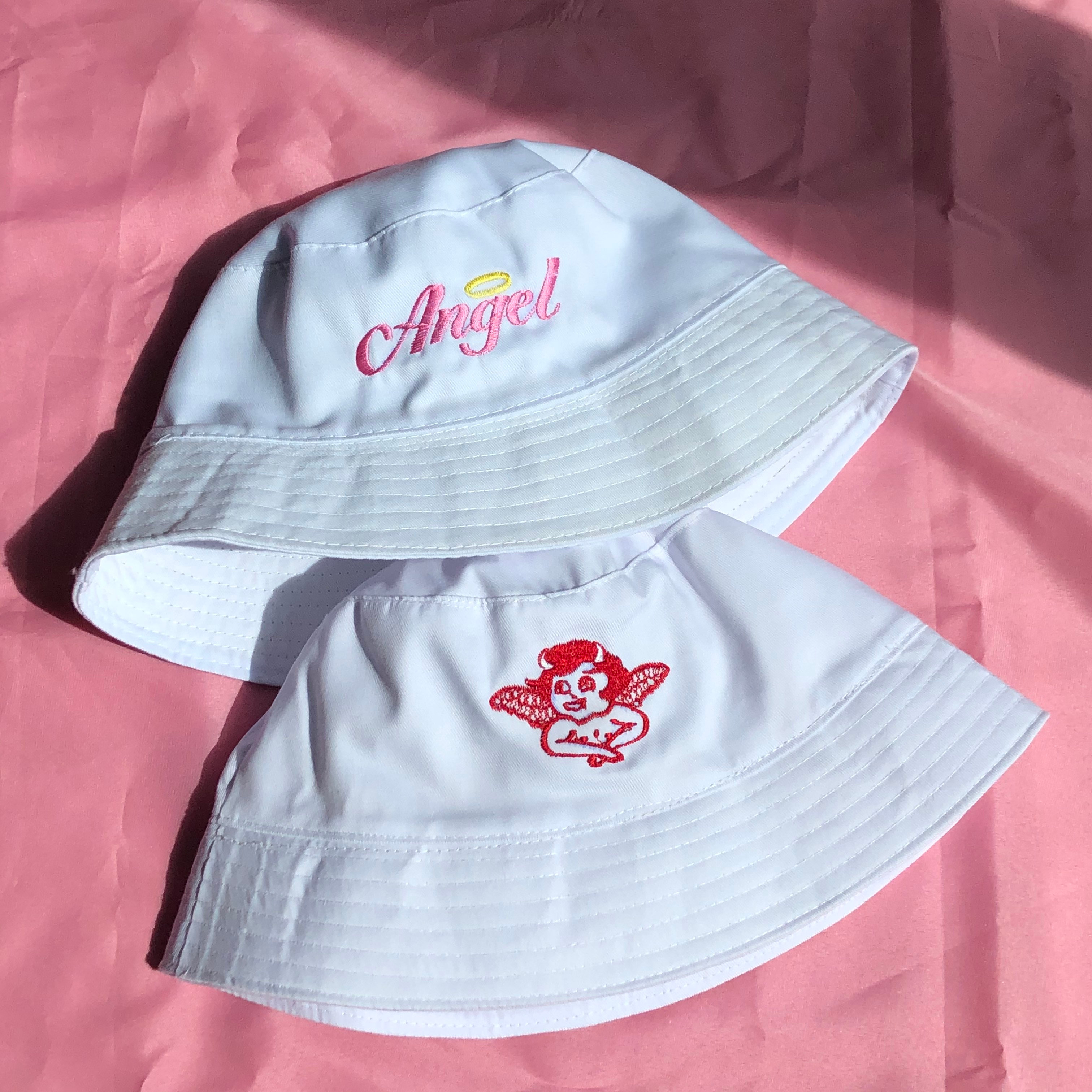 Cherry Bucket Hat Aesthetic Butterfly Angel Index