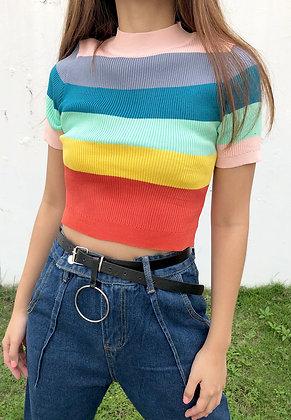 Crayon Knit Top