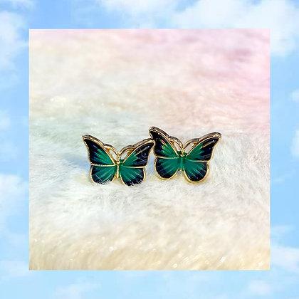 Forest Butterfly Earrings