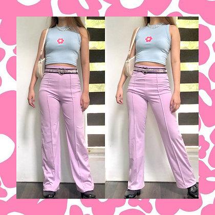Barbie Lilac Wide Pants