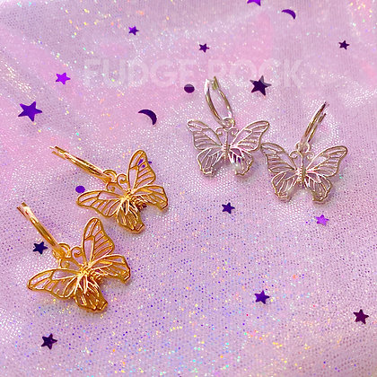 Calista Big Butterfly Earrings