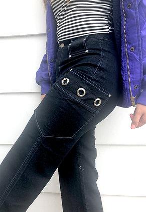 Avril Black Pants