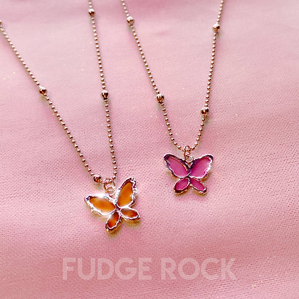 Calista Butterfly Necklace