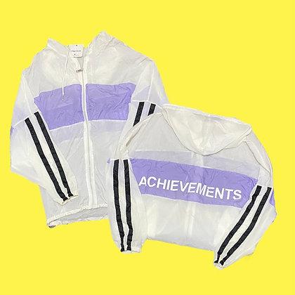 Achievements Purple Windbreaker