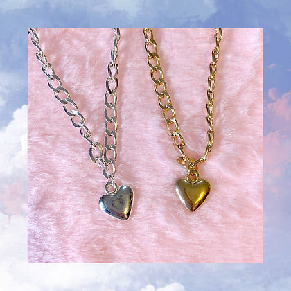 Heart Chain Choker