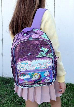 Unicorn Sequins Backpack