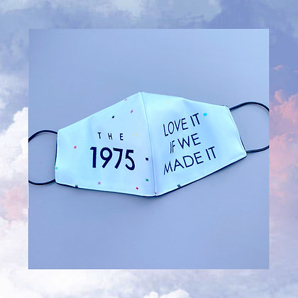 The 1975 Face mask