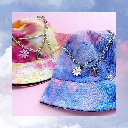 Smiley Floral Y2K Necklace