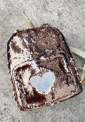 Unicorn Heart Backpack Small