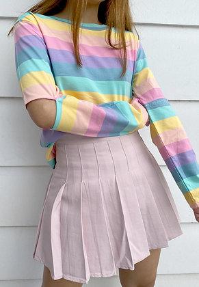 Rainbow Slit Pullover