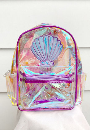 Transparent Holo Backpack