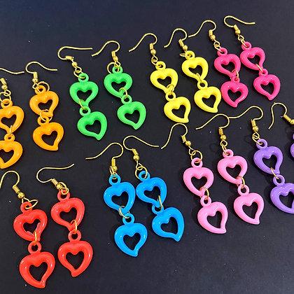 Betty Hearts Earrings
