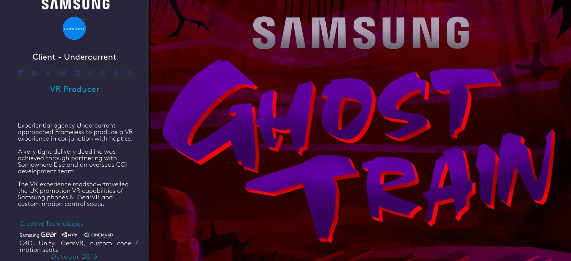 Samsung - Ghost Train 360
