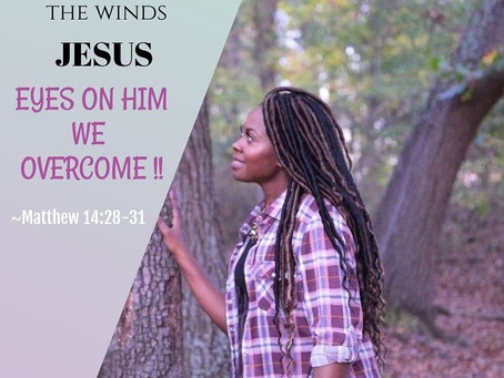 The winds obey Him -Jesus