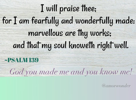 God's word daily♡Life & Truth ~Psalm 139