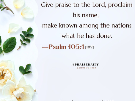The Command to praise God