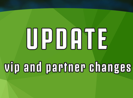 Vip and Partner changes