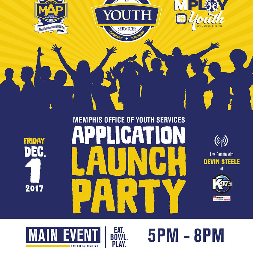 Memphis Office of Youth Services Application Launch Party (1)