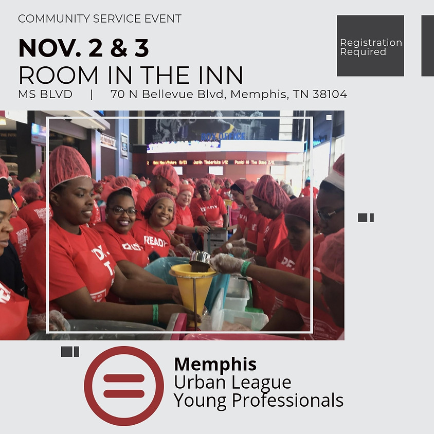 Service Project: Room In The Inn