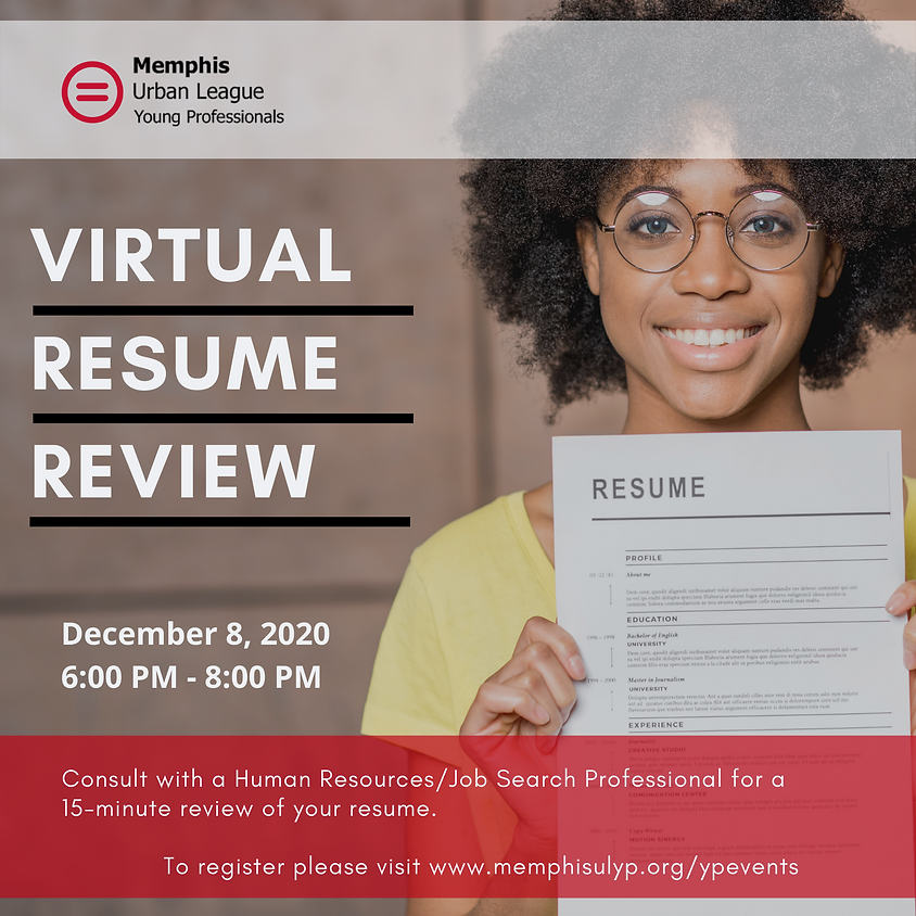 MULYP Virtual Resume Review