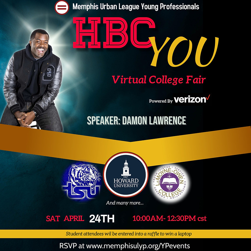 """H.B.C...You! Virtual College Fair"" powered by Verizon Wireless"